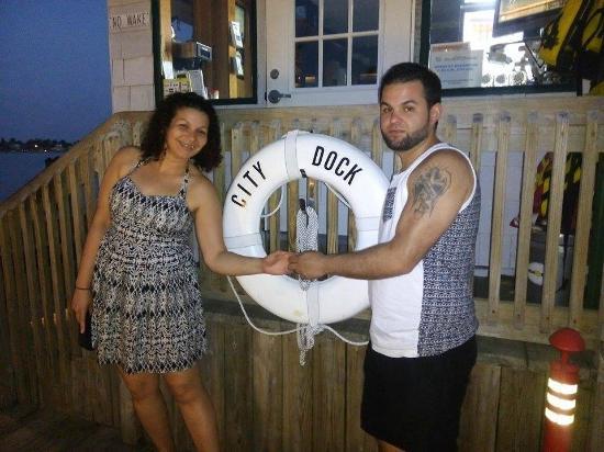 The Dock at Crayton Cove : noche de luna, postres y mucho naples