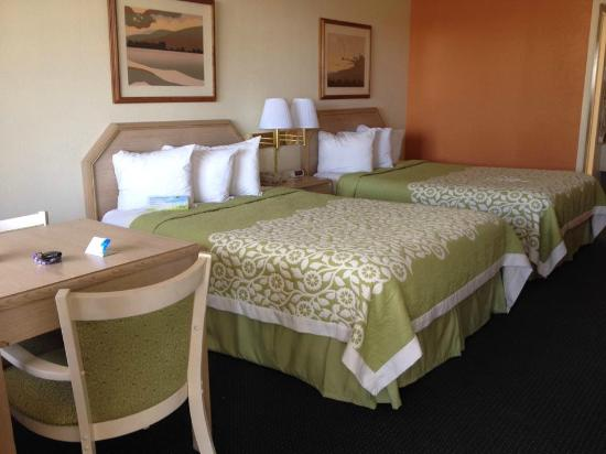 Days Inn Deming: our room, double full size beds.