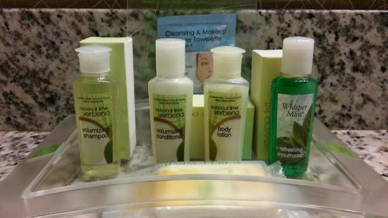 Holiday Inn Cody at Buffalo Bill Village: More than just shampoo