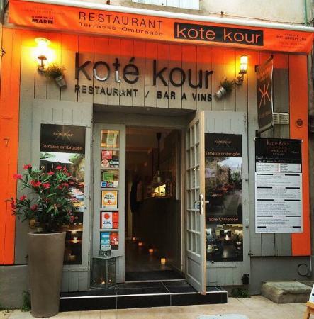 kote kour avignon restaurant reviews phone number photos tripadvisor. Black Bedroom Furniture Sets. Home Design Ideas