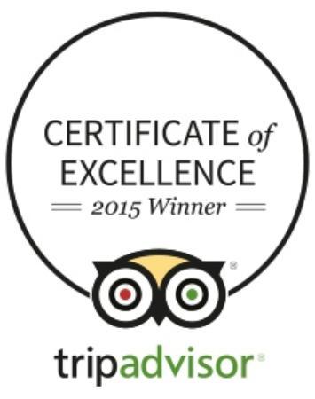 BEST WESTERN Vista Inn: 2015 Certificate of Excellence