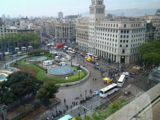 Foto de el corte ingles barcelona vista de la plaza - El corte ingles plaza cataluna barcelona ...