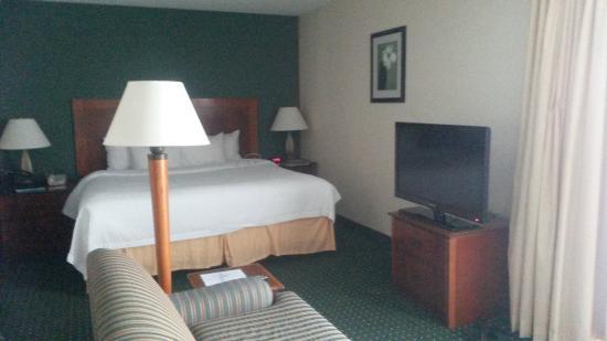 Sonesta ES Suites Minneapolis - St. Paul Airport: living-sleeping area