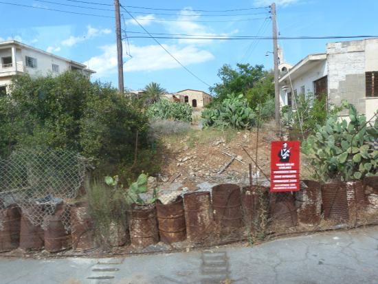 Gazimağusa, Cyprus: Ghost town