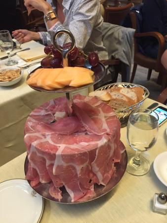 Cipriani Dolci : Proscuitto Tower