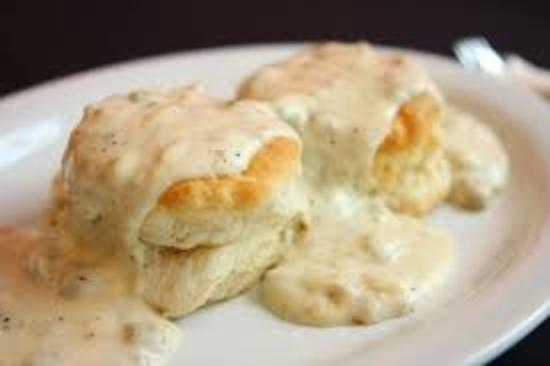 Days Inn Topeka : Biscuits and Gravy