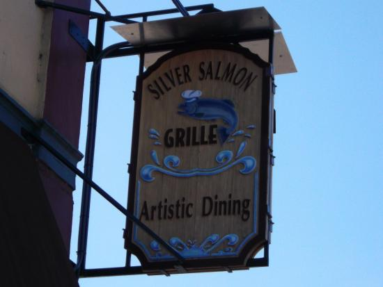 Silver Salmon Grille: Silver Salmon Chowder