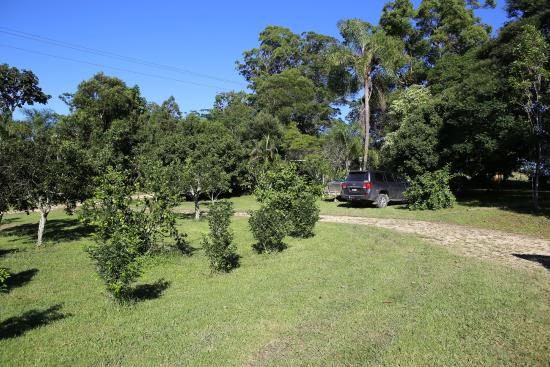 Brierfield, Australia: Area at front of cottage