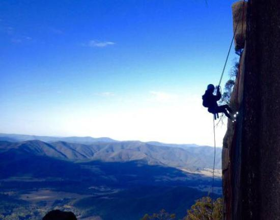 Mount Buffalo National Park, Australia: Amazing experience abseiling into the Gorge with Adventure Guides Australia