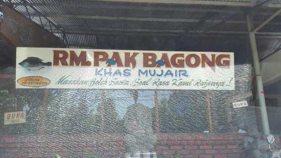 Pak Bagong Restaurant