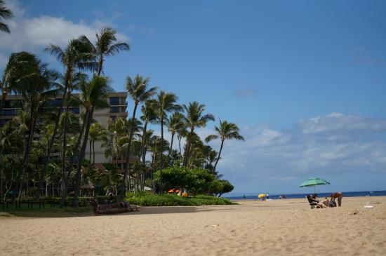 Kaanapali Alii: Beach area