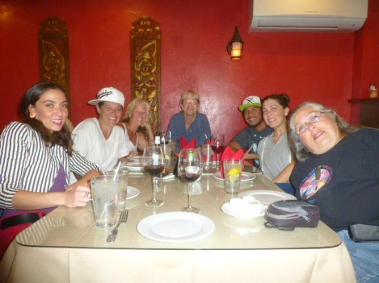 Benja Thai & Sushi: Dinner with family