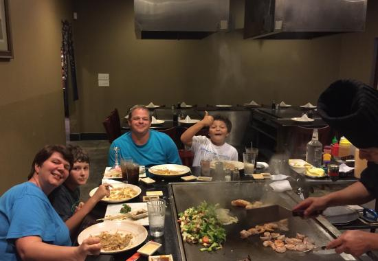 Ichiban Hibachi & Sushi: Our favorite place for celebrations