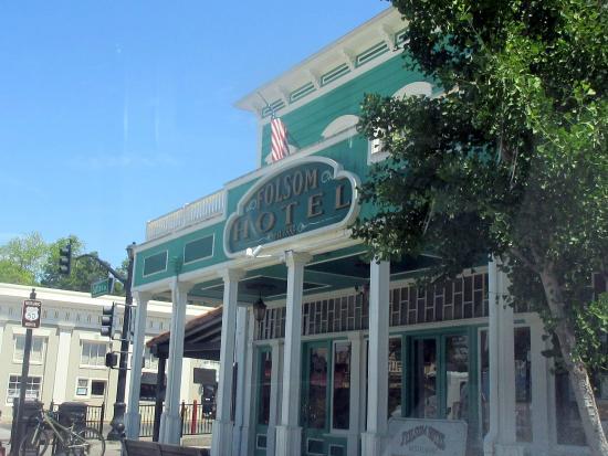 Sutter St Historic Folsom Hotel Street