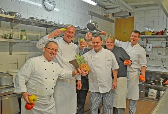 Hotel Eiger Restaurant : Our kitchen chefs