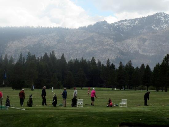 Lake Tahoe Golf Course: Driving Range, South Lake Tahoe, Ca