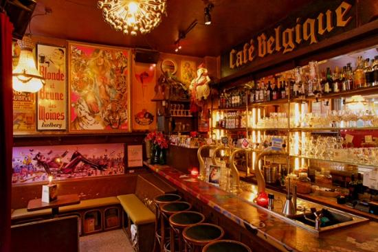 Photo of Nightclub Cafe Belgique at Gravenstraat 2, Amsterdam 1012, Netherlands