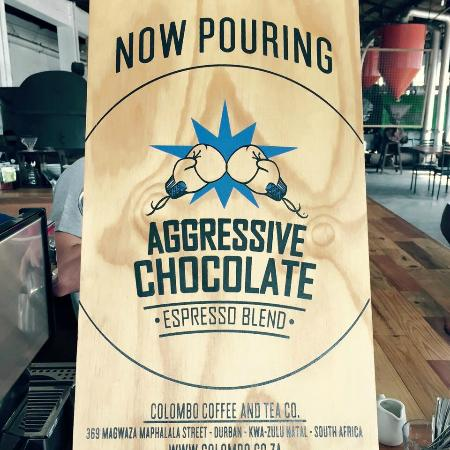 The Factory Cafe: Join us for our populaar house blend  Aggressive Choclate