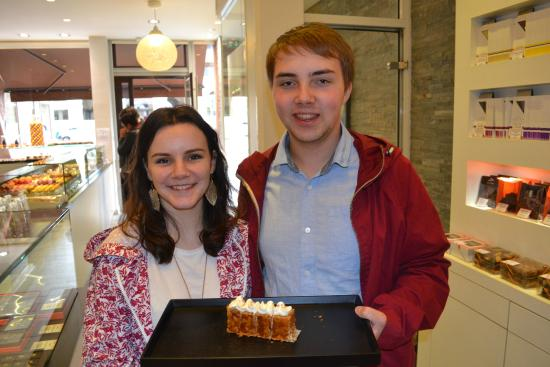 Tours For Foodies : Sampling Arnaud Lahrer's millefeuille during the Gourmet Tour