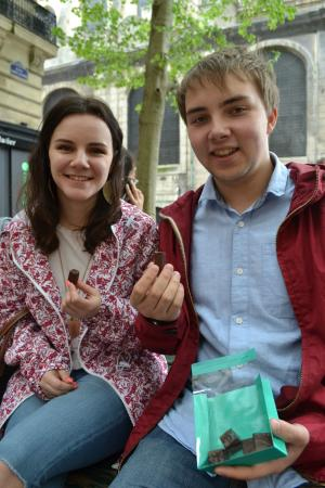 Tours For Foodies: Sampling Patrick Roger's chocolate bonbons during the Gourmet Tour