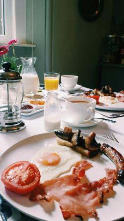 Crosby Bed and Breakfast: Breakfast