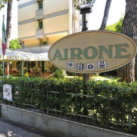 Airone Hotel: entrata