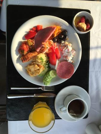 Berce Hotel: Breakfast