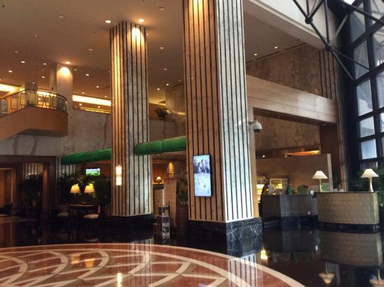 Sheraton Xi'an Hotel: A beautiful lobby