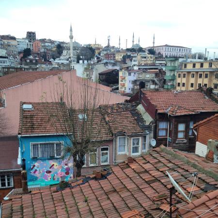 Hagia Sophia Apartment: Вид с балкона отеля