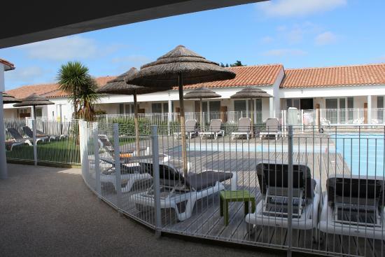 P'tit Dej-HOTEL Ile de Re : Vue de la chambre