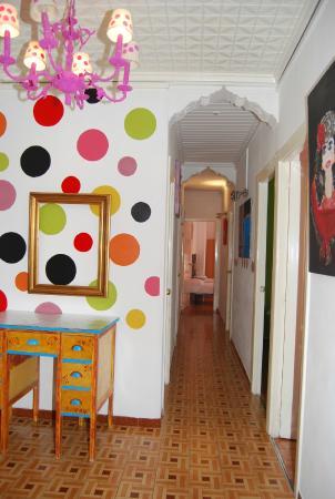 Russafa Youth Hostel: Pasillo