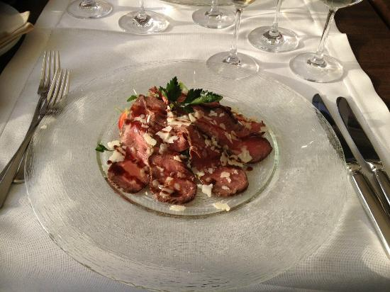 La Botte: Roastbeef mit Honig-Balsamicosauce