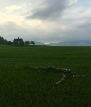 Lyndonville, VT: Sunrise view of neighboring property on Darling Hill Road.