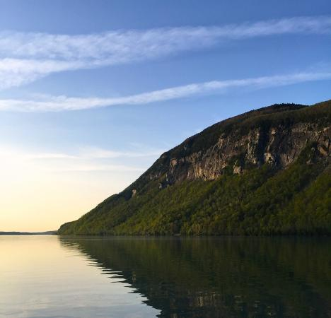 Lyndonville, VT: Lake Willoughby - an easy drive from the Inn.
