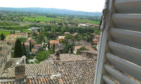 Palazzo Bocci : Der Blick aus dem Hotelzimmer!