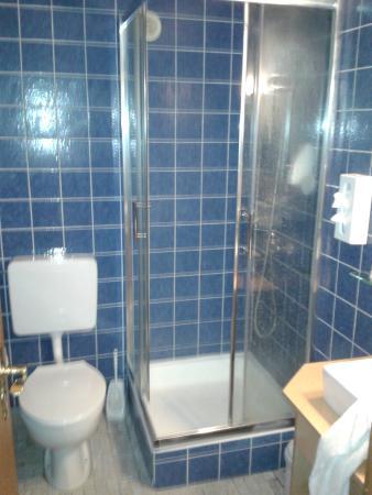 Hotel Sonnhalde: douche