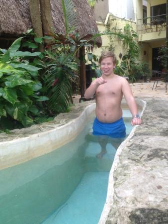Hotel Playa del Karma: Minimal iskall pool