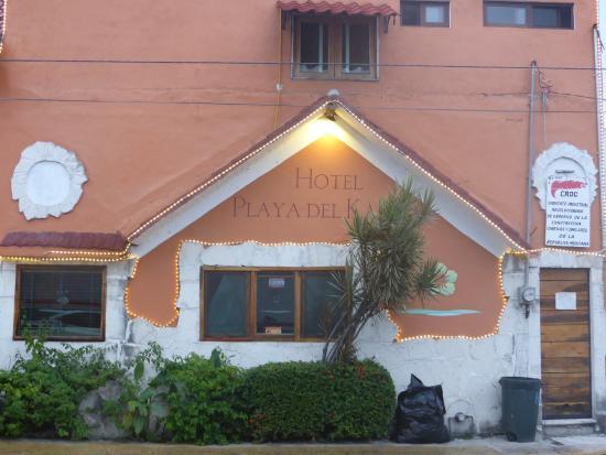 Hotel Playa del Karma: Utsidan