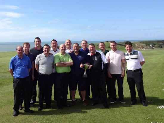 Nefyn Golf Club: Not quite the PGA tour :-)