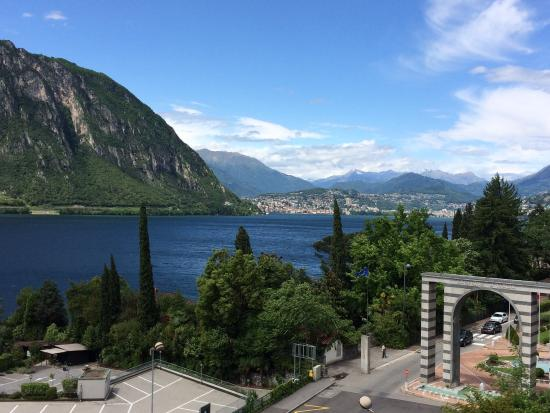 Hotel Campione : View from our room