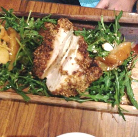 The Strand Cafe Restaurant : Dukkah Chicken Middle Eastern spice & nut mix
