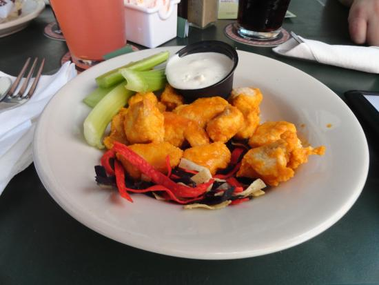 Davidson Brothers Brewing: Buffalo chicken bites