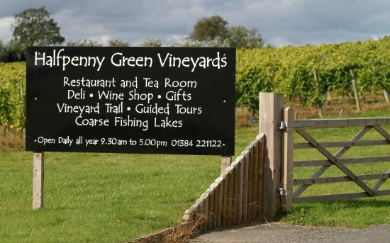 Bobbington, UK: Halfpenny Green Vineyards