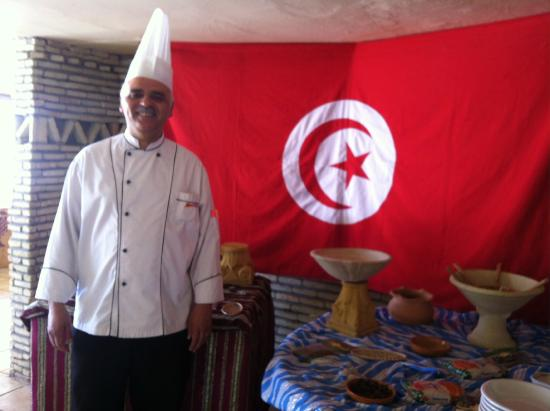 Club Marmara Dahlia : Le chef du restaurant