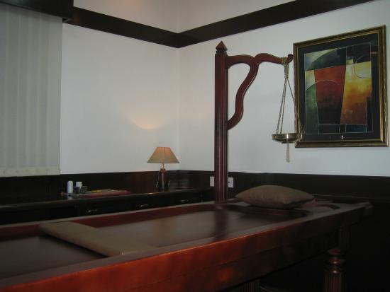 Sowkhya Ayurvedic Spa: Therapy room at Sowkhya