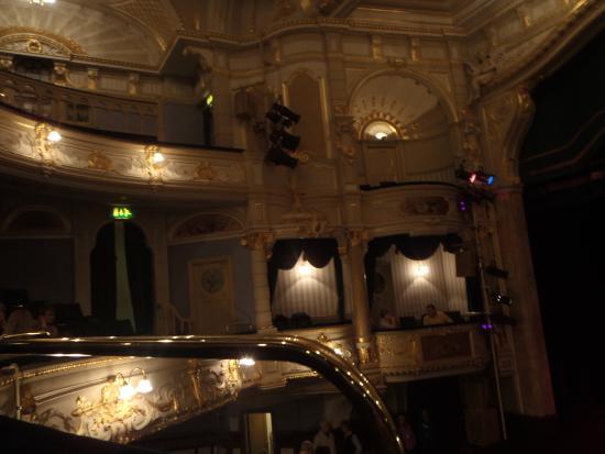 Buxton Opera House: Dress Circle and Boxes