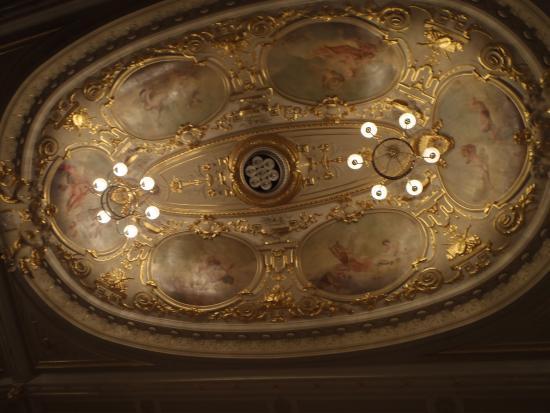 Buxton Opera House: Ornate Ceiling