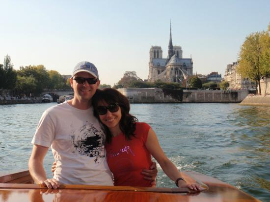Unique Paris Private Tours : Luxury Wood Boat Cruise on the Seine river