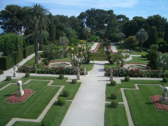 Picture of villa jardins for Villa jardins ephrussi de rothschild