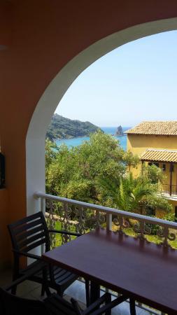 Lido Sofia Apartments: uitzicht van ons balkon